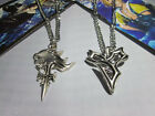 New Final Fantasy Lion Heart Pendent & Tidus Pendant Necklace Anime Cosplay Set