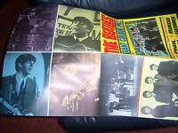 The Beatles EARLY GIANT FOLDING  POSTER PYX ORIGINAL 1964 AWESOME !