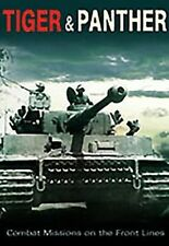 Tiger and Panther: Combat Missions On the Front Lines - DVD Region 2 Brand New F