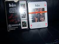 The Beatles FULL SET (52 +2 JOKERS) PLAYING CARDS  OFFICIAL APPLE CORPS SEALED