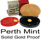 2012 LUCKY Number 2002 Year of Dragon Solid Gold Proof 1/10oz Perth Mint Feb 20