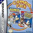 Sonic Advance + Sonic Pinball Party Combo Pack (Game Boy Advance) CARTRIGE S2700