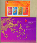 Hong Kong 2012 Year of Dragon Specimen Pack