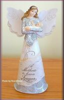 """A MOTHER'S LOVE ANGEL FIGURINE BY PAVILION ELEMENTS 8"""" FREE U.S. SHIPPING"""
