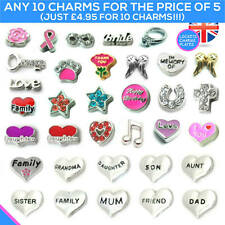 CHARMS Living Memory Locket Pendant Necklace Floating Charm Family Jewellery
