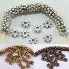 1000x/Lot Daisy Flower Spacer Beads Tibetan Silver Jewelry Making 4mm