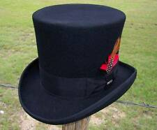 NEW MAD HATTER Victorian Caroler Dickens Steampunk GNR Slash Tuxedo Top Hat NWT