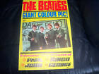 GENUINE THE BEATLES EARLY GIANT POSTER (LOFT FIND) PYX ORIGINAL 1964 STUNNING !