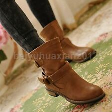 2014 Fashion Women Driving Shoes Flat Heel Winter Short Booties Ankle Boots