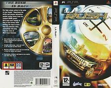 L.A. Rush - Sony PSP Game - good condition BD