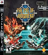 The Eye of Judgment  (Sony Playstation 3, 2007) No Camera eye  ,  New