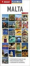 NEW Insight Flexi Map: Malta by Insight Guides Free Shipping