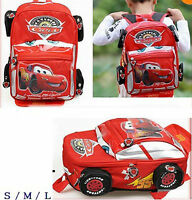 Disney Pixar 95 Cars McQueen Kids Backpack School Bag