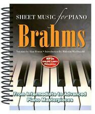 NEW Brahms: Sheet Music for Piano by Alan Brown (English) Free Shipping
