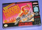 Exertainment Mountain Bike Rally (Super Nintendo SNES) SEALED BRAND NEW RARE
