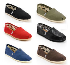 New Toms Classic Women's Slip-On Shoes Authentic in Original Box (6 Colors)
