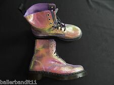 Womens Dr Martens Boots Pascal  Violet new 13660501 Mirror Shift Suede