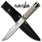 Tactical Survival Knife With Kit and Sheath #690S