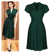 Sexy Women Vintage 50's Swing Dresses Formal Evening Cocktail Party Fit Gown
