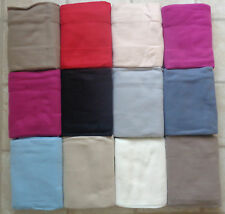 Large Soft Fleece Blanket / Throw for Sofa Bed Pet - 13 Colours Combined Postage