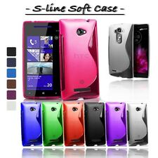 Custodia Cover Morbida Flessibile Wave S-LINE Gel Tpu PER LG NOKIA SONY ...