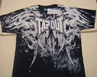 BRAND NEW Graphic,Cotton mens black TAPOUT t shirt adult size S