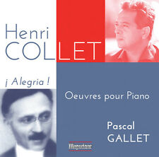 Collet / Pascal Gallet - Alegria Oeuvres Pour Piano [CD New]