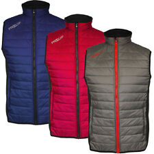 PROQUIP 2015 Full Zip Therma Tour Quilted Vest Insulated Mens Golf Gilet
