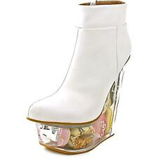 Jeffrey Campbell Icy Womens Leather Fashion Ankle Boots