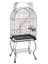 Bird Parrot Cage with Stand Cockatiel Amazon, Conure, 24 X 16 X 62H,CageDealer