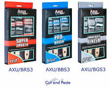 """Axus Decor 3 x Paint Brush Sets, 3 OPTIONS AVAILABLE! 1"""", 1.5"""" & 2"""""""