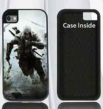 L@@K Hard Case for iPhone 4 4s 5 5s, 6 & 6 plus Assassin's Creed 3 VIDEO GAME