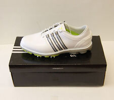 New Adidas Pure 360 Golf Shoes White/Silver Q46946