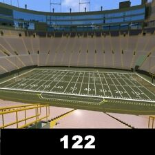 1-4 Tickets 10/18 Green Bay Packers v Chargers 122 Lambeau Field