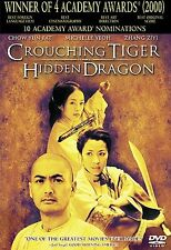 CROUCHING TIGER HIDDEN DRAGON DVD Factory Sealed Snap Cover New 2001