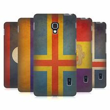 HEAD CASE DESIGNS VINTAGE FLAGS SET 4 HARD BACK CASE FOR LG PHONES 3