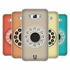HEAD CASE DESIGNS RETRO PHONES SOFT GEL CASE FOR SAMSUNG PHONES 3