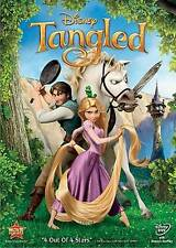 """Tangled (DVD, 2011) Brand New Free Shipping ,""""4 OUT OF 4 STARS"""", 1 DISC"""