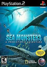 Sea Monsters: A Prehistoric Adventure (Sony PlayStation 2, 2008) excellent condi