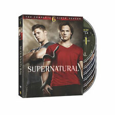 NEW Sealed Supernatural: The Complete Sixth Season (DVD, 2011, 6-Disc Set) NIP