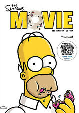 The Simpsons Movie (DVD, 2007, Canadian; Full Frame)