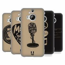 HEAD CASE DESIGNS POWER OF MUSIC SOFT GEL CASE FOR HTC PHONES 2