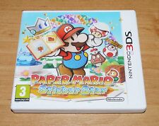 Paper mario Sticker star 3D Game for Nintendo 3DS & 3DS XL