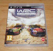 WRC FIA World rally championship Game for Sony PS3 Playstation 3