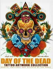NEW Day of the Dead Tattoo Artwork Collection by Edgar Hoill Hardcover Book Free