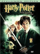 Harry Potter and the Chamber of Secrets (DVD, 2003, 2-Disc Set, Full Frame)x