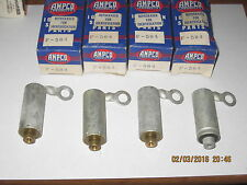 4 IGNITION CONDENSERS,USA MADE NORS 1932-1933-1934-1935-1936 FORD FLATHEAD V8