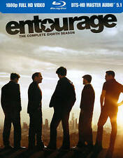 Entourage: The Complete Eighth Season (Blu-ray Disc, 2012, 2-Disc Set) BRAND NEW