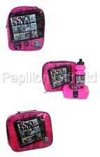 Monster High Lunch Bag Childrens School Pink Insulated Lunch Sandwich Cool Bag