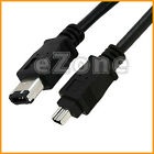12Ft High Performance 4pin to 6 pin IEEE 1394a Firewire 400 iLink Cable